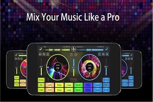 Virtual DJ Mixer Studio 8 Para Androide Virtual Music Mixer android descarga apk aplicaciones android virtual dj para android cross